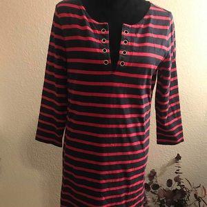 Gap Striped Dress Size M
